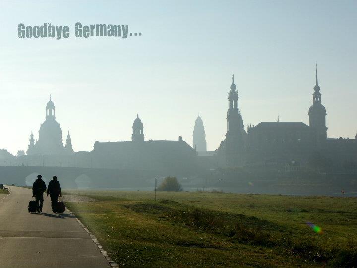 Goodbye Germany...