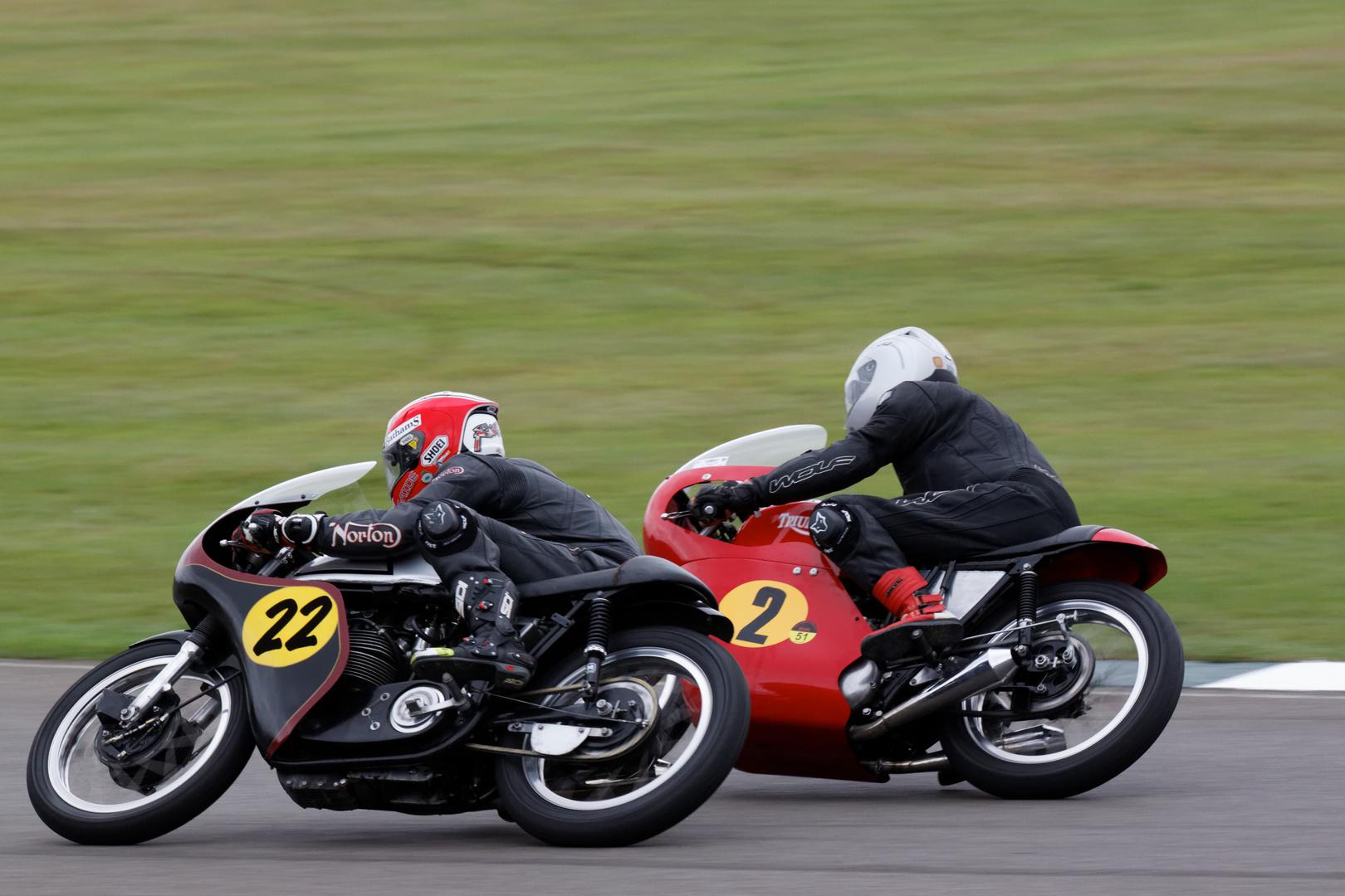 Goodwood Revival 2013 - Barry Sheene Memorial Race