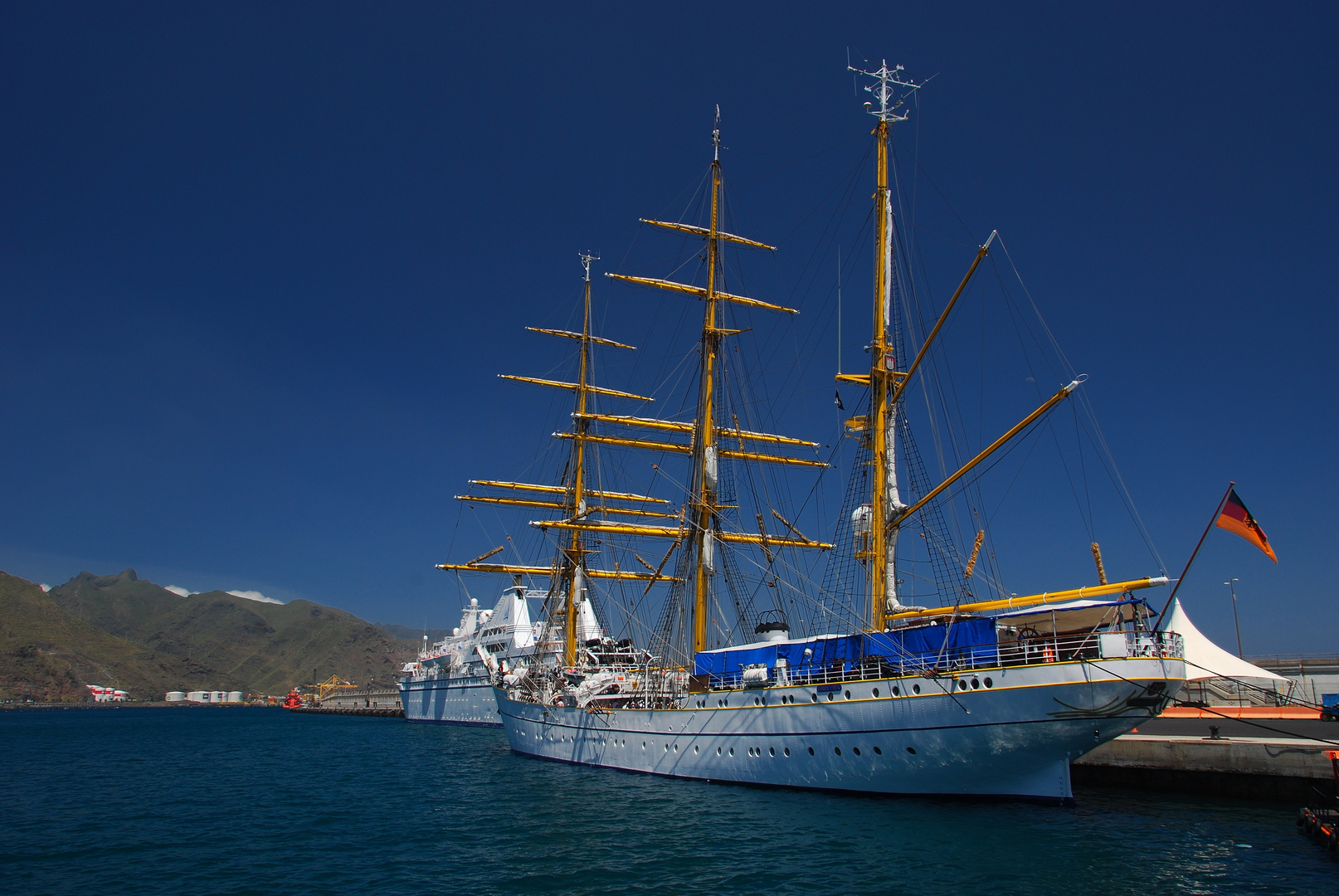 Gorch Fock in Santa Cruz de Tenerife