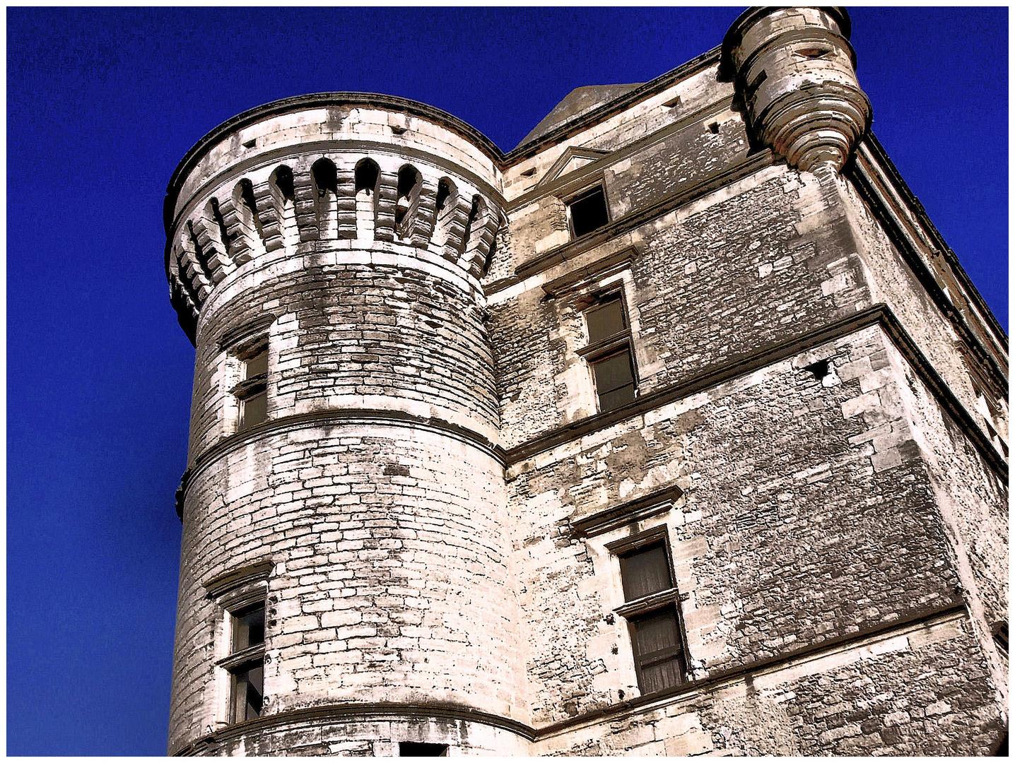 Gordes, le château.