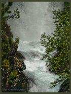 Gorgas de Alba cascada ( Benasque Huesca )