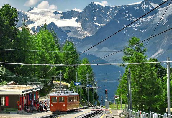 Gornergrat Bahn, Kanton Wallis, Schweiz