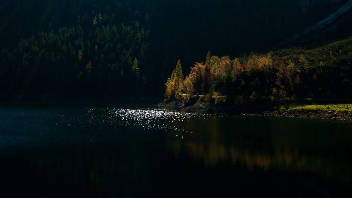 Gosau See im Herbst
