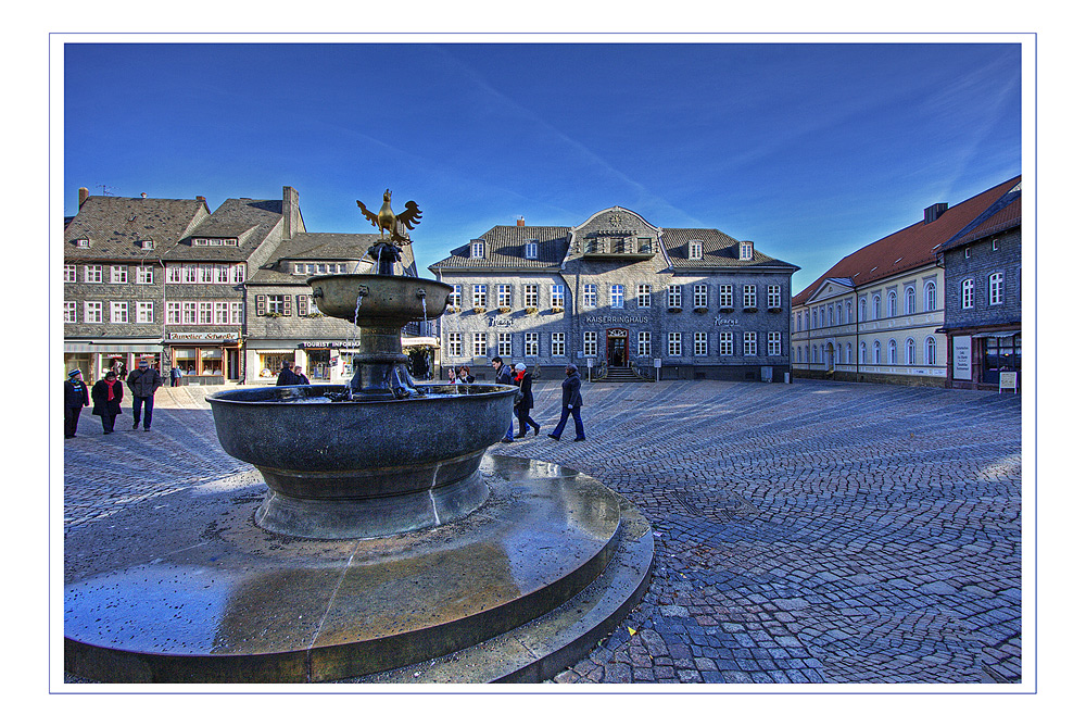 Goslar - Der Markplatzblick 2