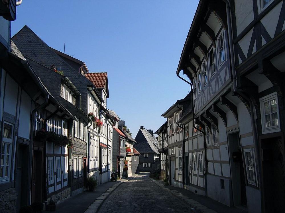 Goslar - Mittelalterlicher Straßenzug