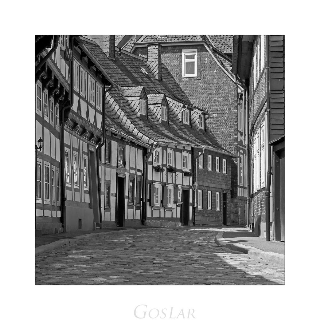 """GosLarer-Impressionen """" schöne Häuserzeile, in der Peterstrasse...."""""""