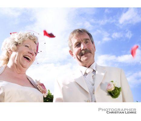 got married...