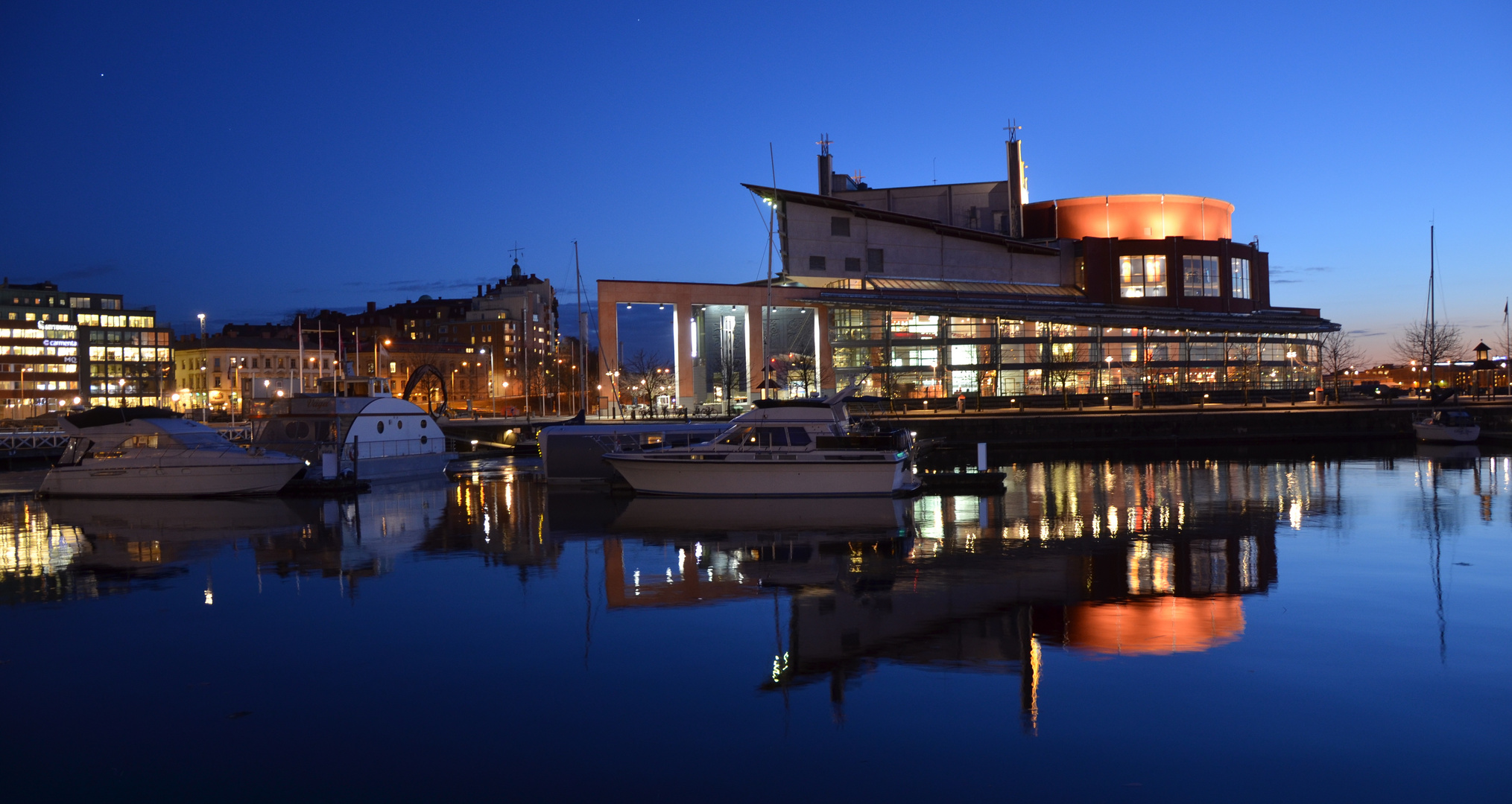 Gothenburg Opera - Blue Hour