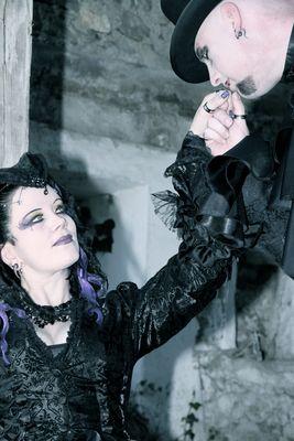 Gothic Paar