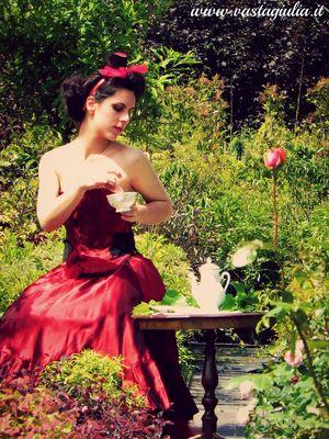 Gothic tea time