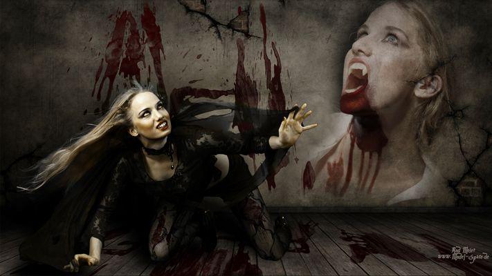 Gothic Vampir Wallpaper
