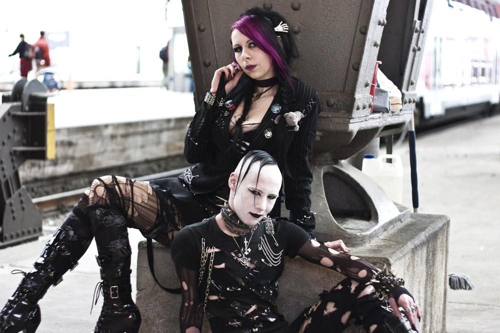 Gothic WGT Leipzig BHFI Foto & Bild | erwachsene, paare