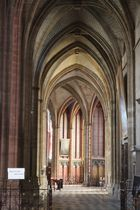 gotische Architektur in der Kathedrale von Orléon