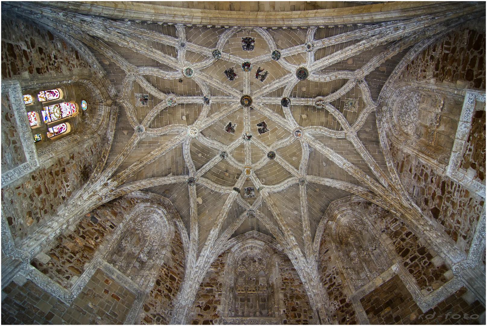 Gotische Kirchenkuppel