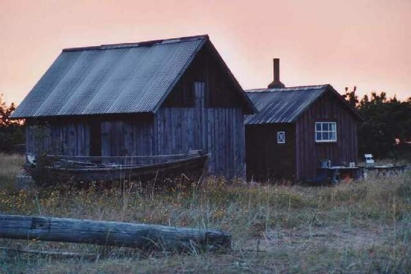 Gotland am Abend