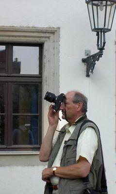 gott, ist die kamera schwer.......