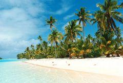"""""""Gottes eigene Badewanne"""" Aitutaki- Atoll"""
