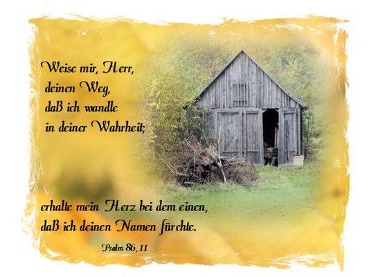 Gottes Wege - führen weiter - - Sein Wort ist die Warheit