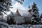 Gotteshaus im Winter