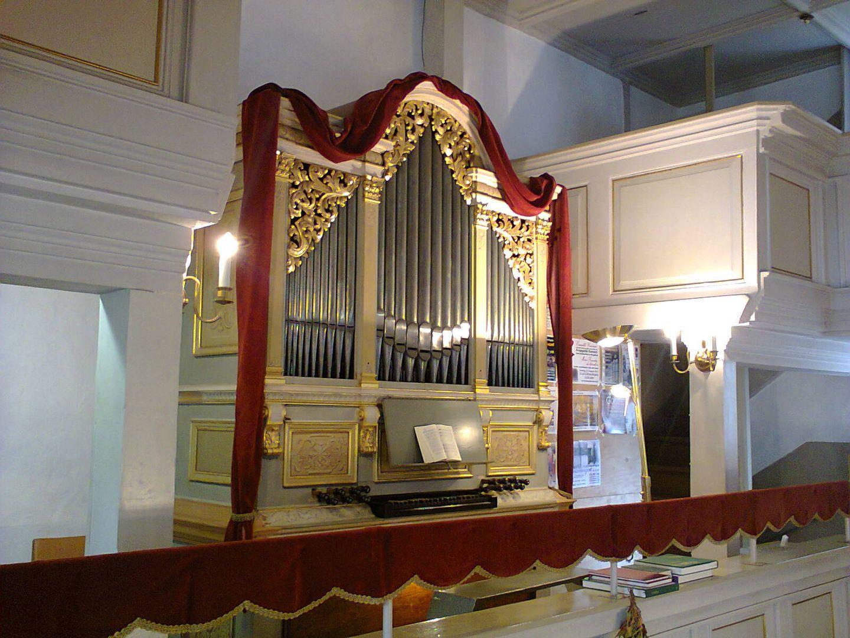 Gottfried Silbermann Orgel in der Martinskirche Ringethal
