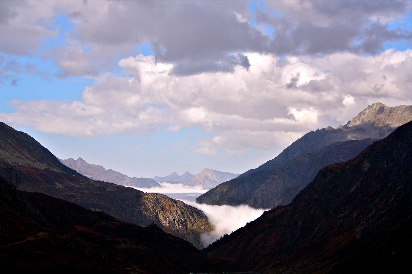 Gotthard nördliche Seite