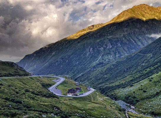 Gotthard pass...