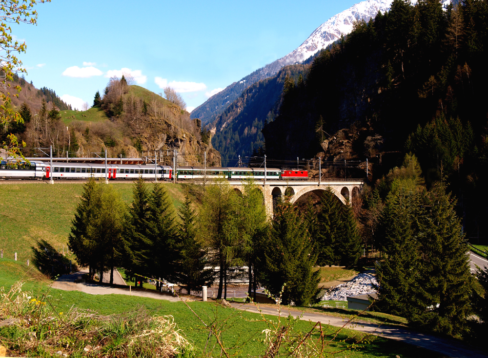 Gotthard Sud: le Viaduc de Stalvedro