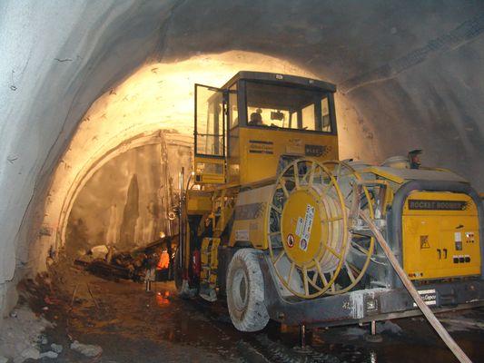Gotthard Tunnel im Bau