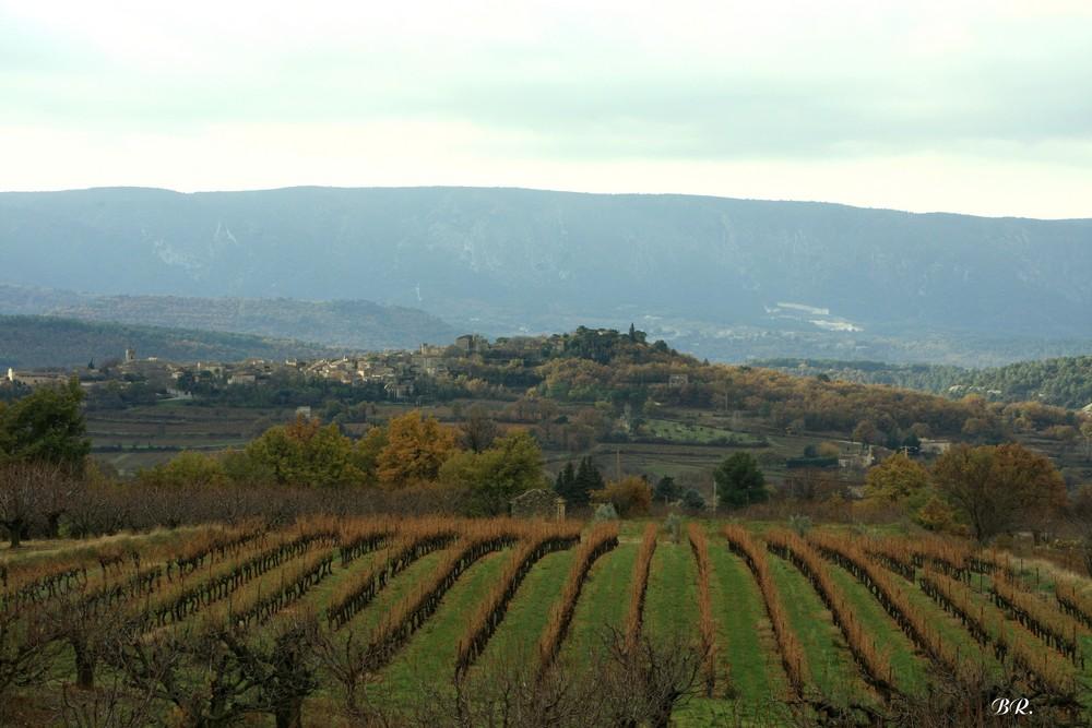 Goult village caché en Luberon