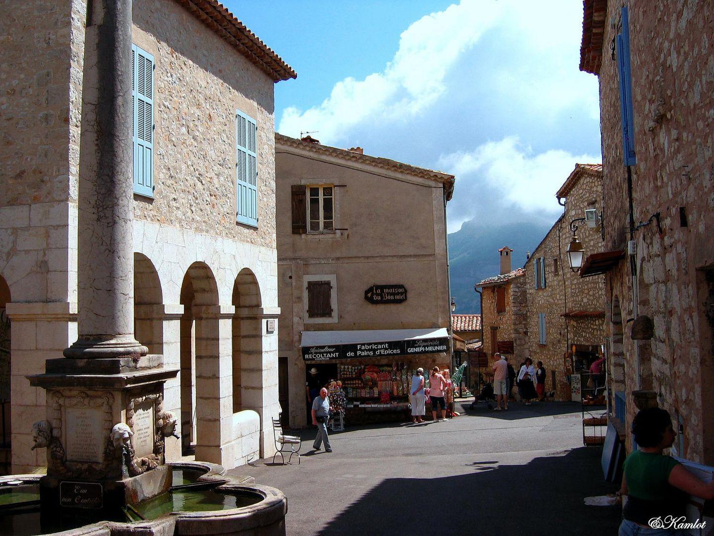 Gourdon - village médiéval