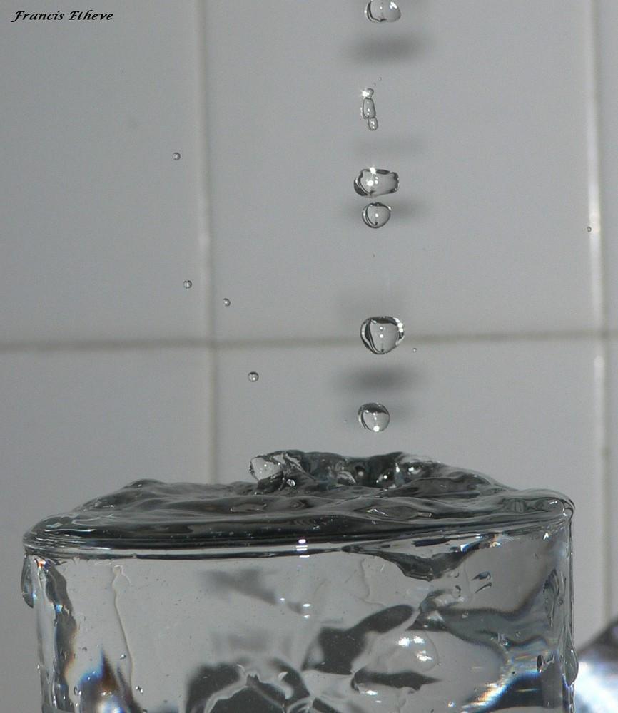 Gouttes d'eau !