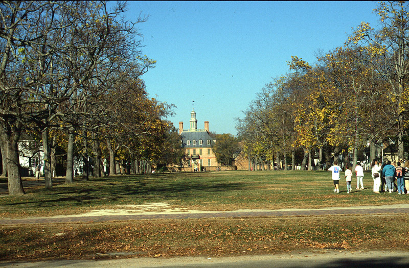 Gouverneurspalast in Williamsburg/Virginia
