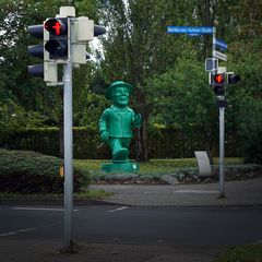 """go_west:_stop""_(DDR-Ampelmännchen)"