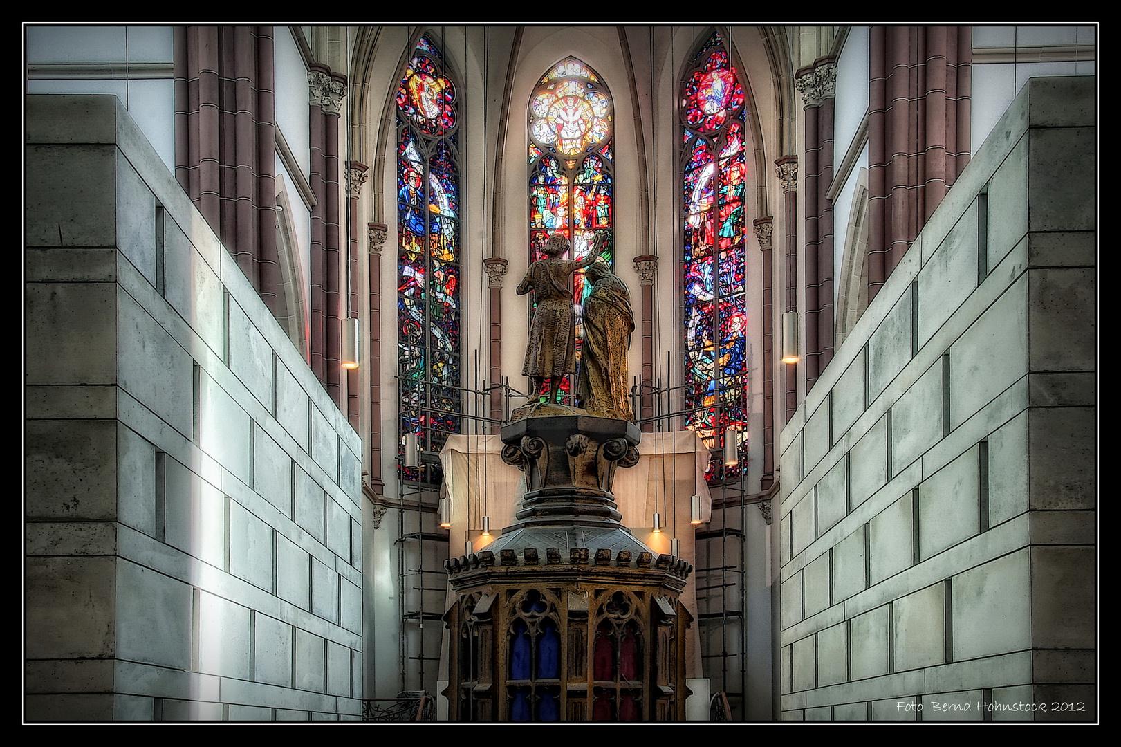 Grabeskirche St. Joseph Viersen ... vor der Eröffnung