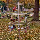 Grablichter Kindergräber Zentralfriedhof Wien