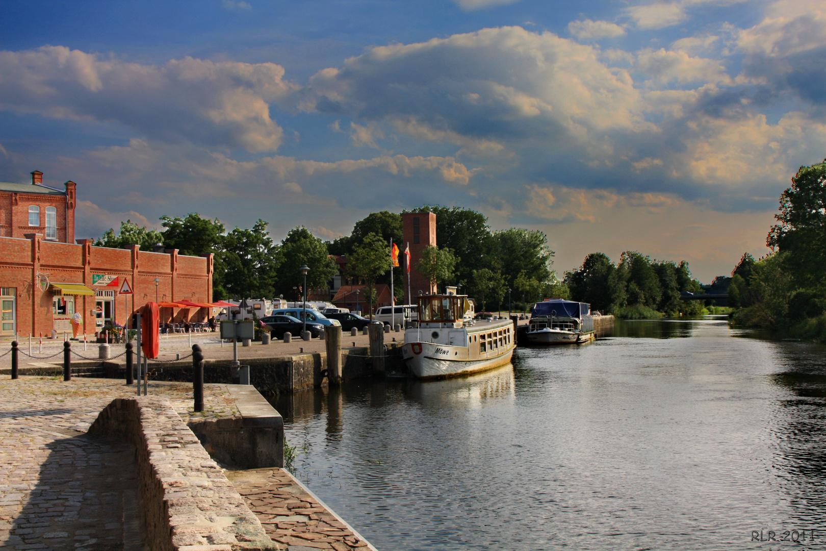 Grabow, Blick zum Stadthafen