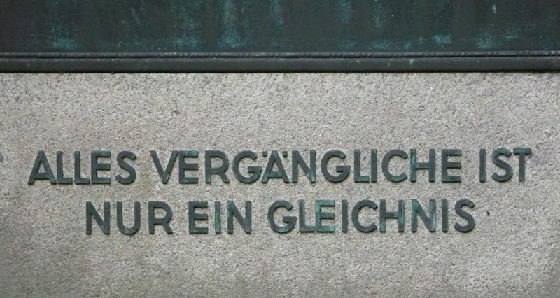 Grabspruch weltlich (Ohlsdorf, Hamburg)