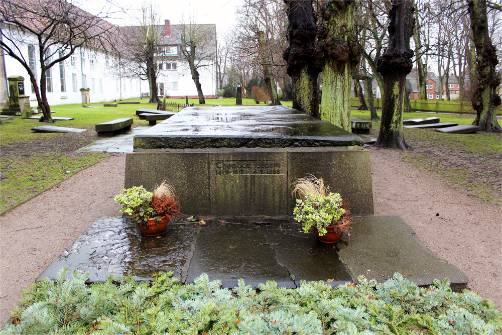 """Grabstätte von """"Theodor Storm"""""""