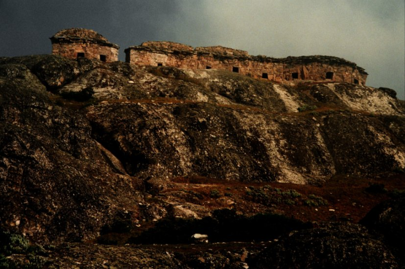 Grabstätten in Marca Huassi