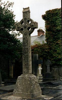 Grabstein in Irland (Nähe Cork)