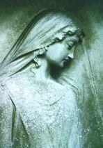 Grabstein - Relief