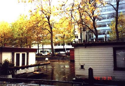 Gracht in Amsterdam....
