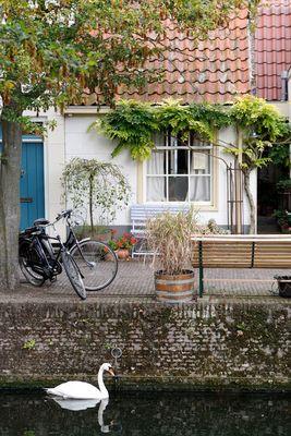 Gracht in Enkhuizen/NL