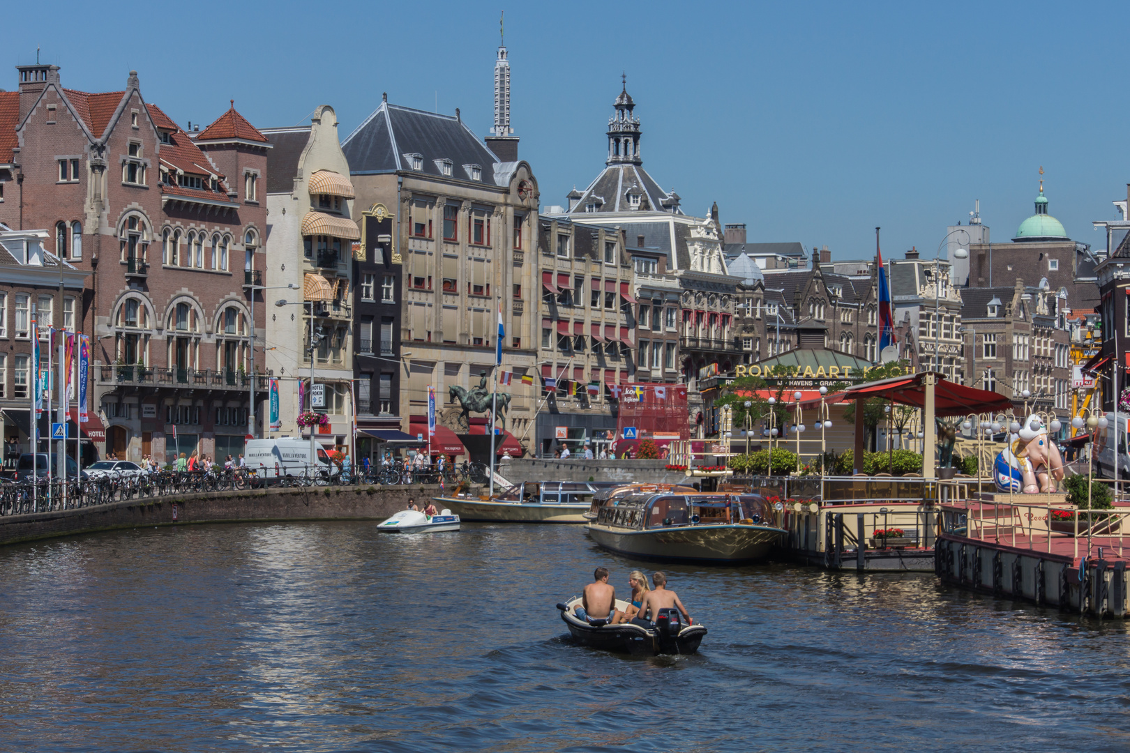 Grachtenansicht V - Amsterdam