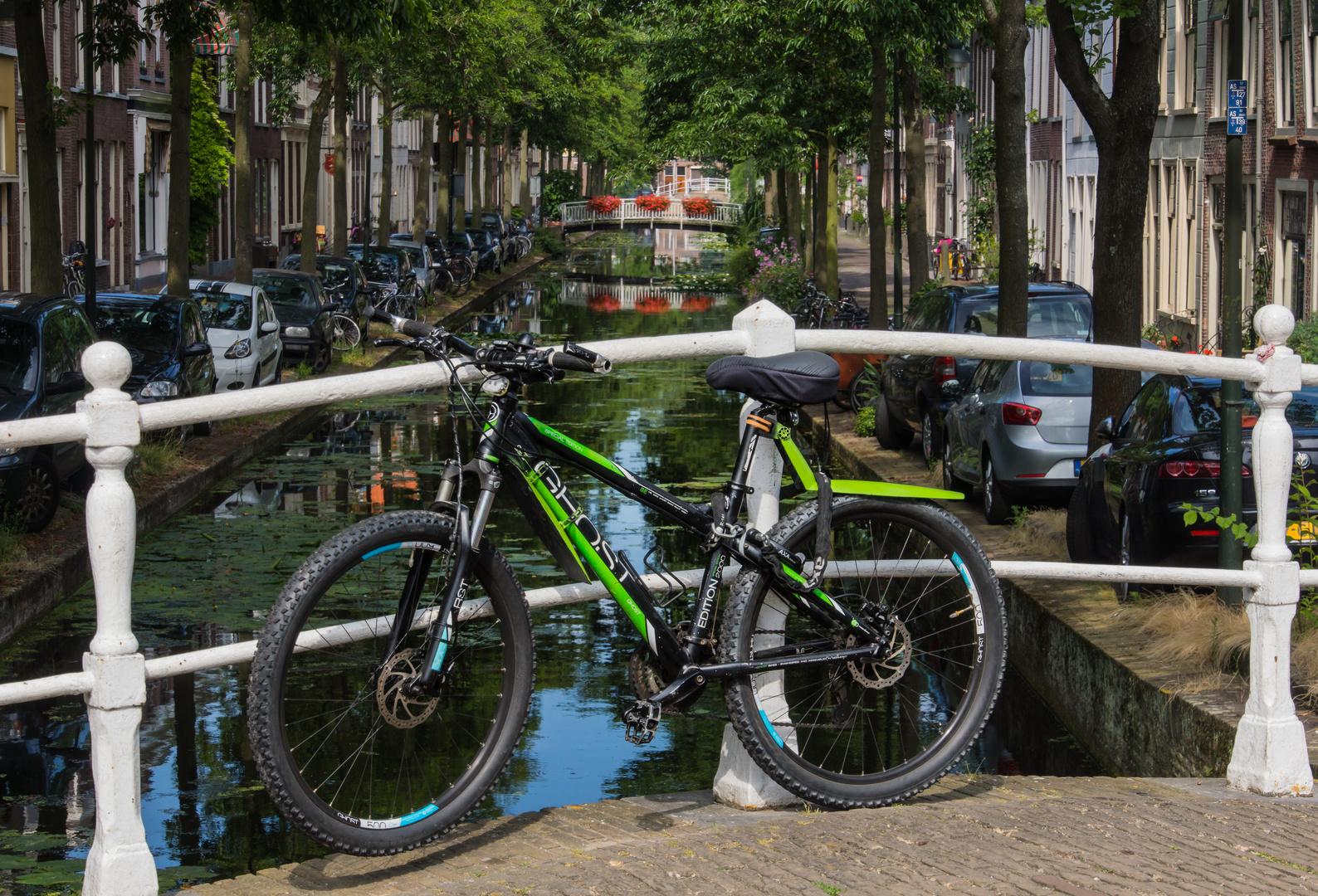 Grachtenansicht VII - Delft/Niederlande