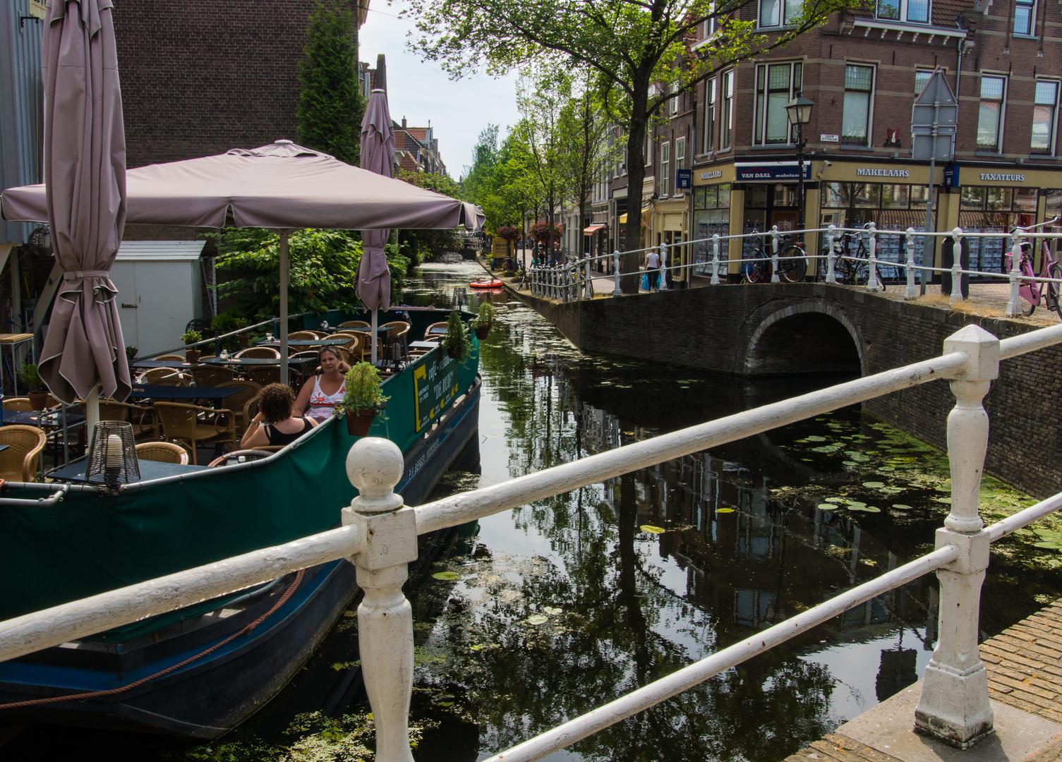 Grachtenansicht VIII - Delft/Niederlande
