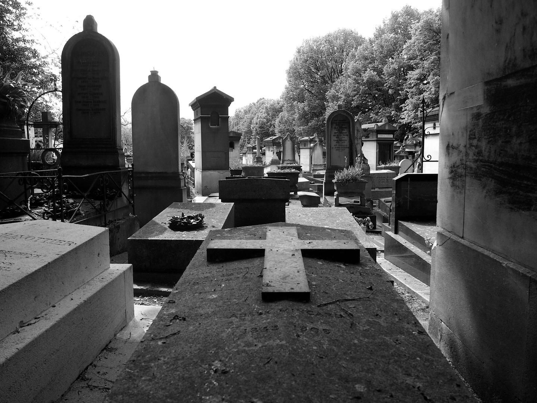 Gräber auf dem Pere Lachaise