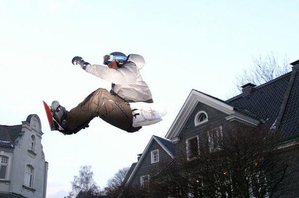 Gräfrather Snowboard-Spektakel