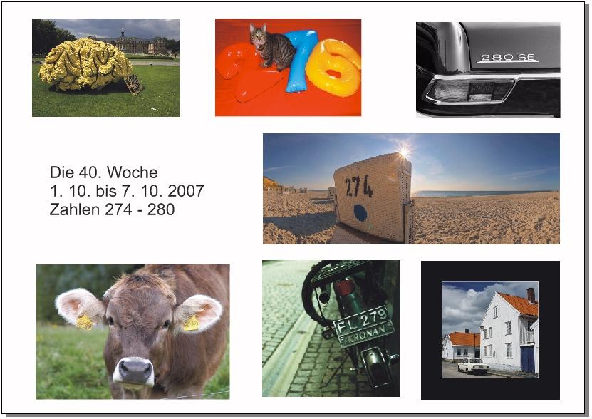 Graf-Zahl-Projekt 2007 - 40. Woche