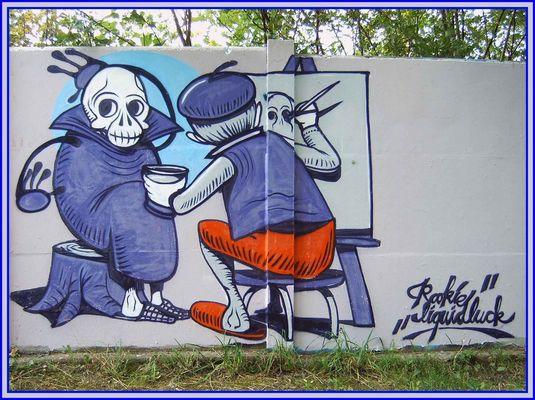 Graffiti . .